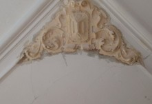 Restauratie hoek ornament